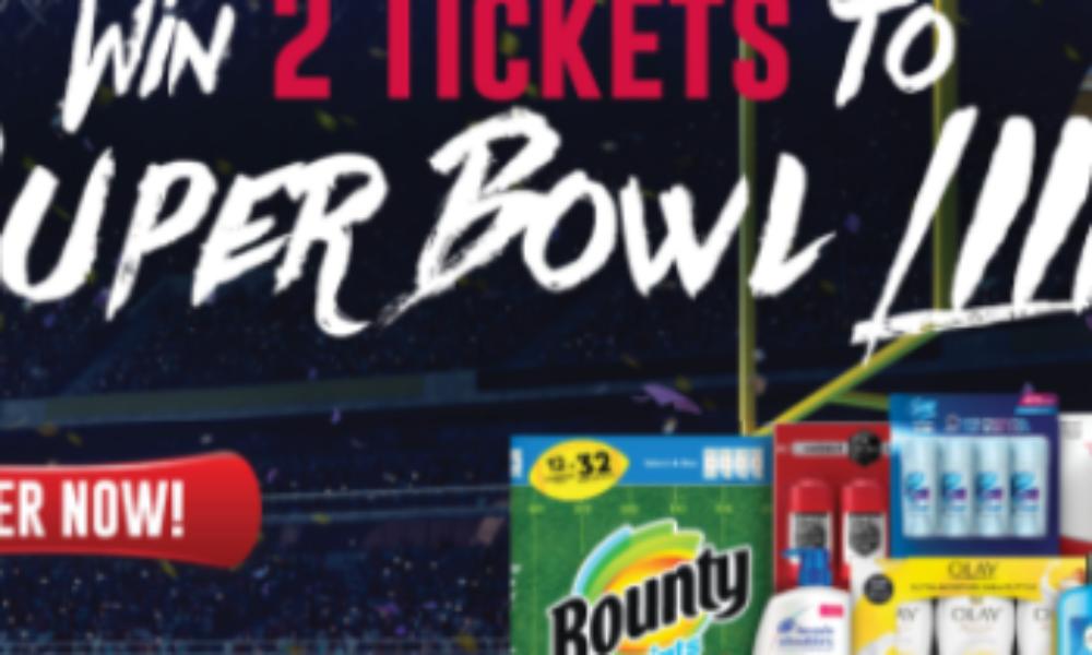 Win 2 Tickets to Super Bowl LIIII