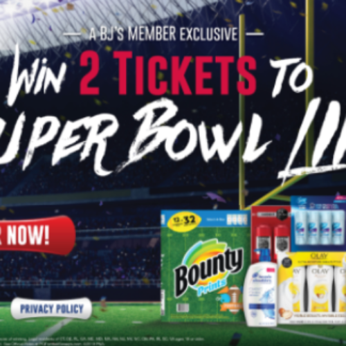 Win 2 Tickets to Super Bowl LIIII