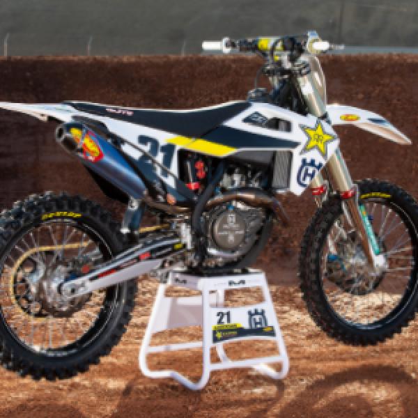 Win a 2019 Husqvarna FC450 Dirt Bike