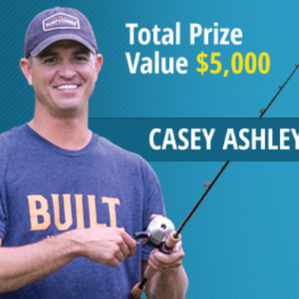 Win a Fishing Trip with a Pro Angler