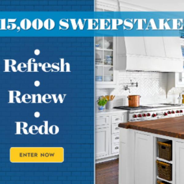 Win $15K from Better Homes & Gardens