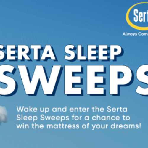 Win a Serta Mattress & Box Spring from Big Lots