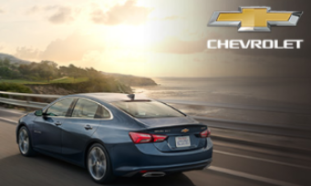 Win a new Chevy Vehicle valued up to $45K