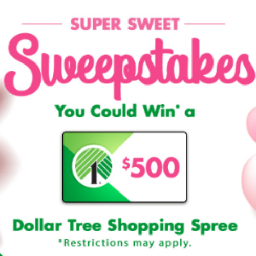 Win a $500 Dollar Tree Gift Card