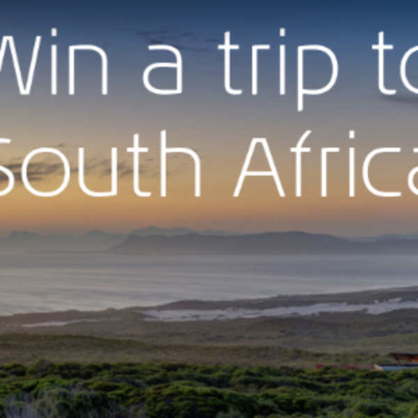 Win a Trip to Cape Town South Africa