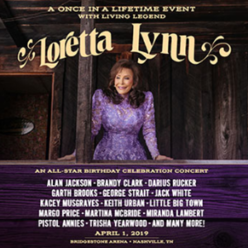 Win a Trip to the Loretta Lynn Tribute Concert