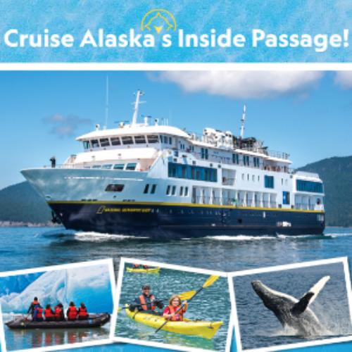 Win a Cruise in Alaska's Inside Passage