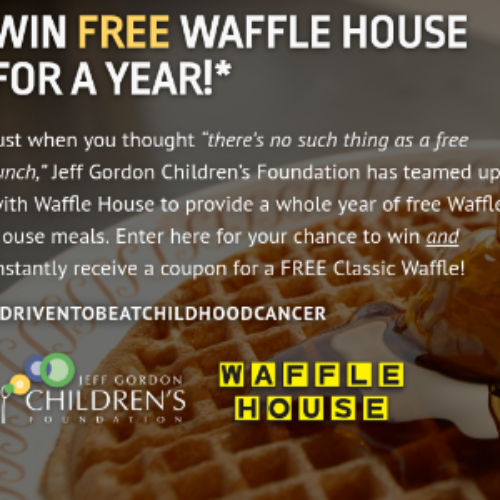 Win Free Waffle House for a Year