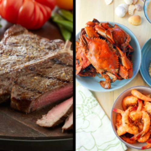 Win a 6-Month Supply of Seafood & Steak