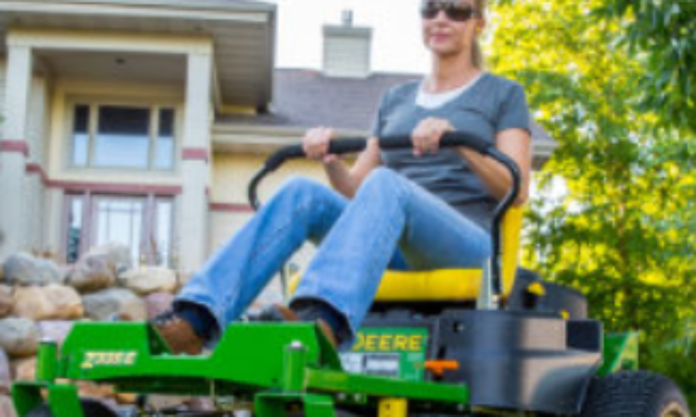 Win a John Deere Residential ZTrak Mower