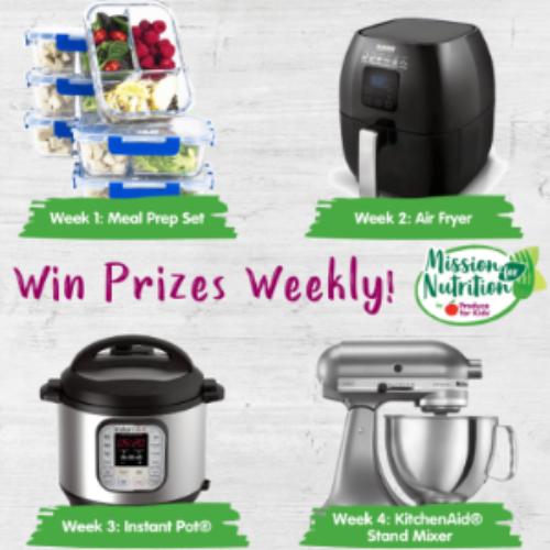 Win an Air Fryer or Instant Pot