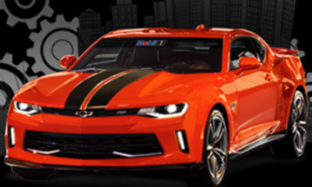 Win a Custom Chevy Camaro + $15,000 Cash