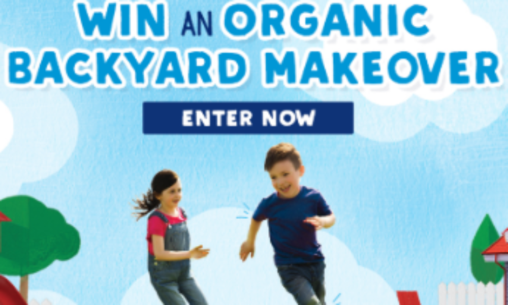 Win an Organic Backyard Makeover