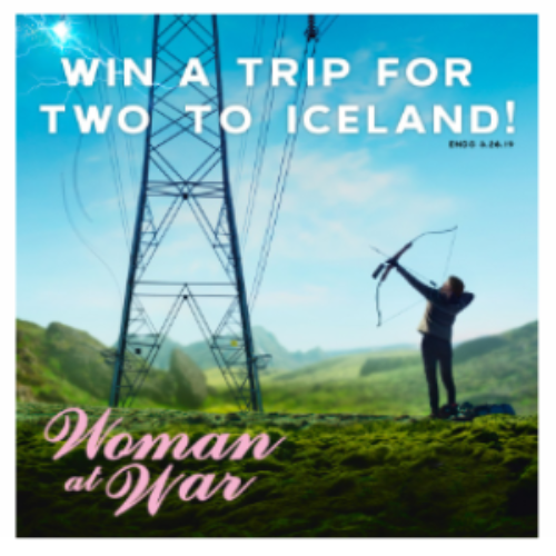 Win a Trip for Two to Iceland