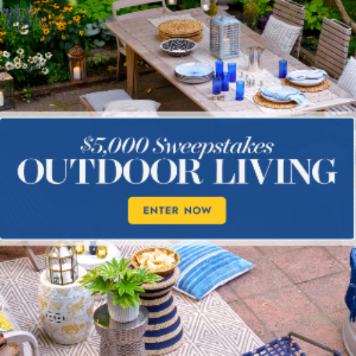 Win $5K from Better Homes & Gardens