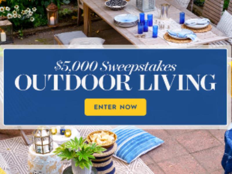 Win $5K from Better Homes & Gardens