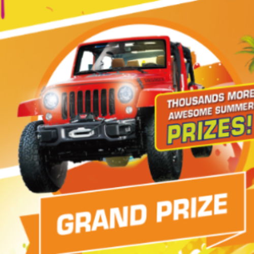 Win a Jeep, Caribbean Vacation, Nintendo Switch + More