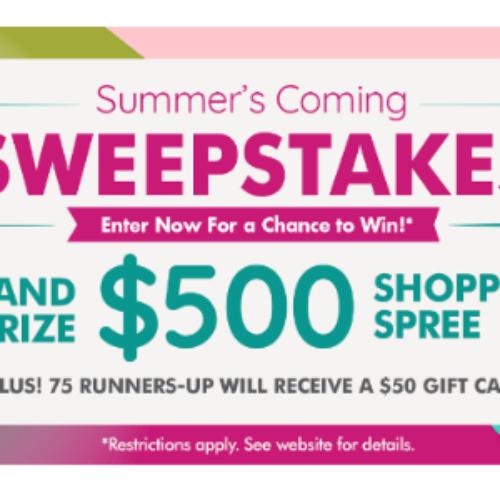 Win a $500 Dollar Tree Shopping Spree