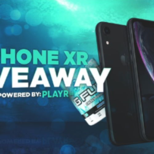 Win an iPhone XR from PLAYR