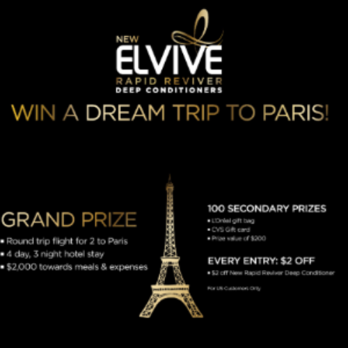 Win a Dream Trip to Paris from L'Oreal