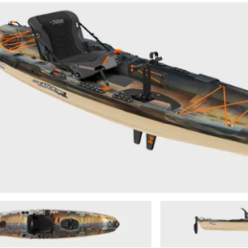Win a Pelican Catch 130 Hydryve Fishing Kayak