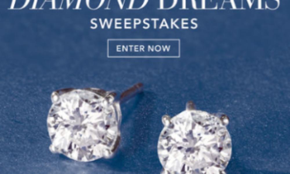 Win a Pair of Diamond Earrings