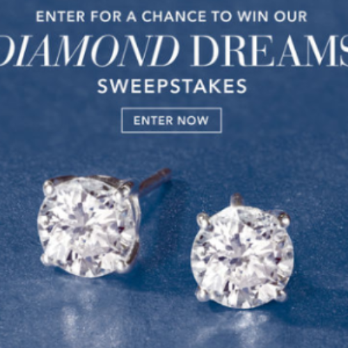 Win a Pair of Diamond Earrings