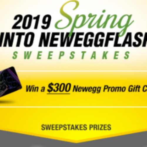 Win a $300 Newegg Gift Card