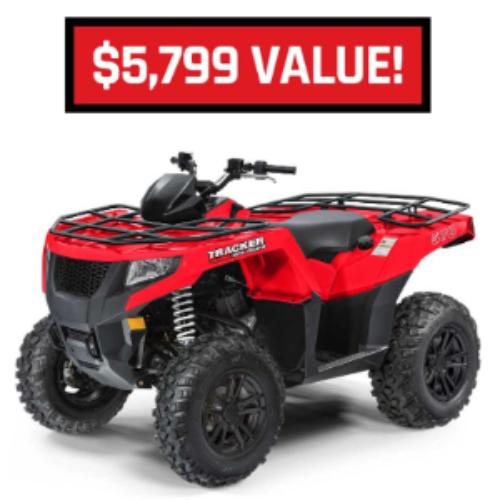 Win a Tracker 570 ATV