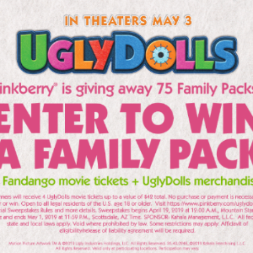 Win an UglyDolls Family Fun Pack