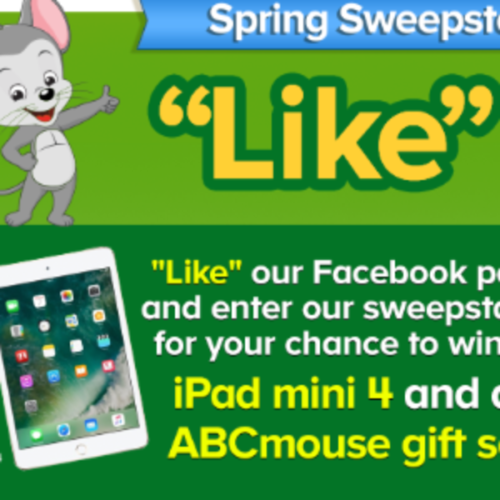 Win an iPad Mini 4 + ABCmouse Gift Set