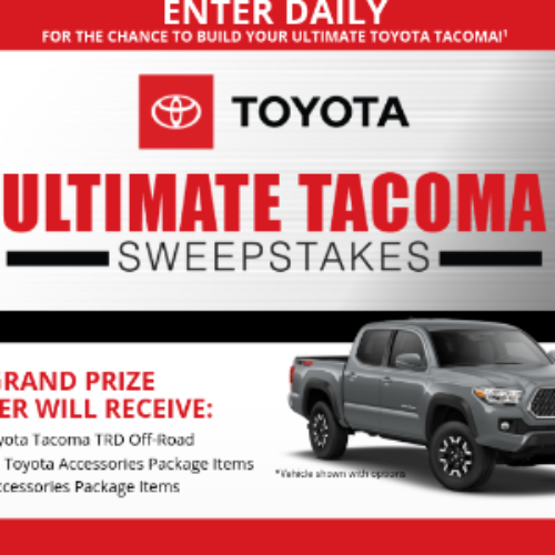 Win a 2019 Toyota Tacoma from Bassmaster