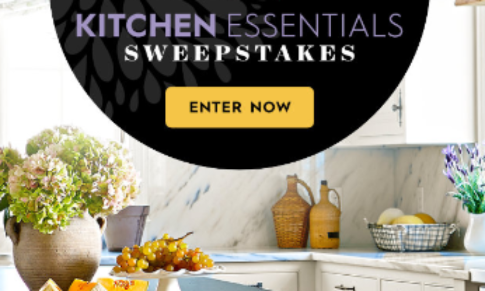 Win $5,000 from Better Homes & Gardens