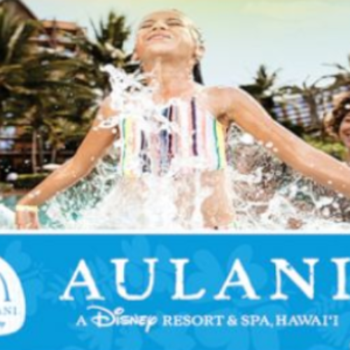 Win a Disney Aulani Resort Vacation in Honolulu