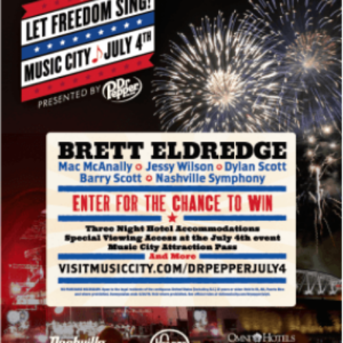Win Tickets to Let Freedom Sing on July 4th