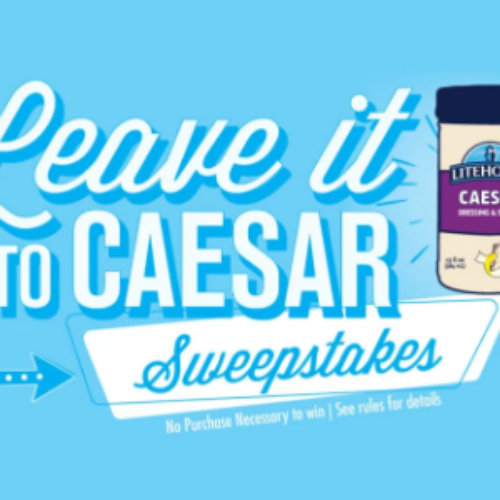 Win a $1,000 Visa Gift Card from Litehouse Foods