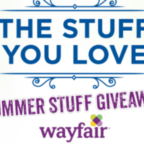 Win a $1K Wayfair Gift Card & Prize Pack