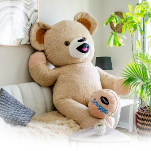 Win a $1K Wayfair Gift Card + Life-Size Snuggle Bear