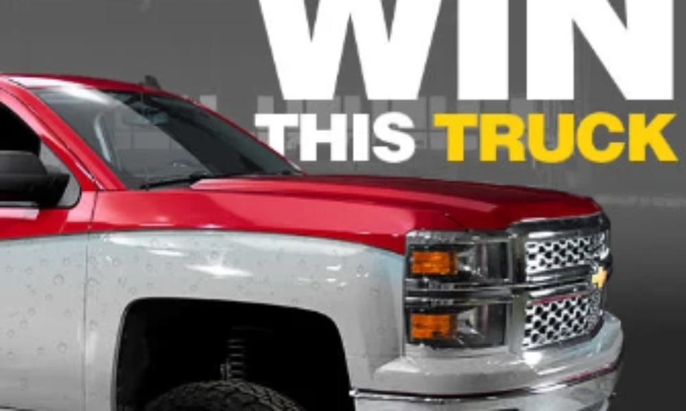 Win a Custom 2014 Chevy Silverado Truck