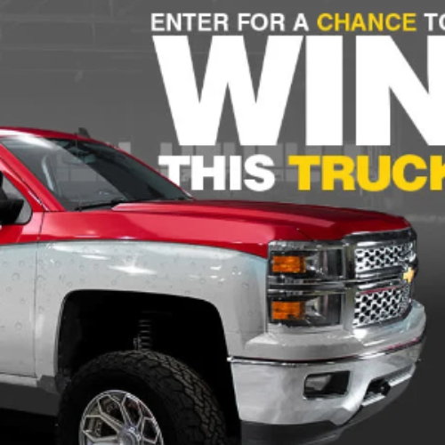 Win a Custom 2014 Chevy Silverado Truck