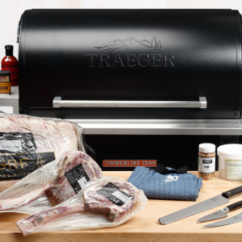 Win A Traeger Timberline Pellet Grill & Wagyu Beef
