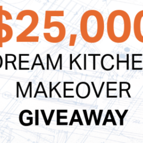 Win a $25,000 Kitchen Makeover