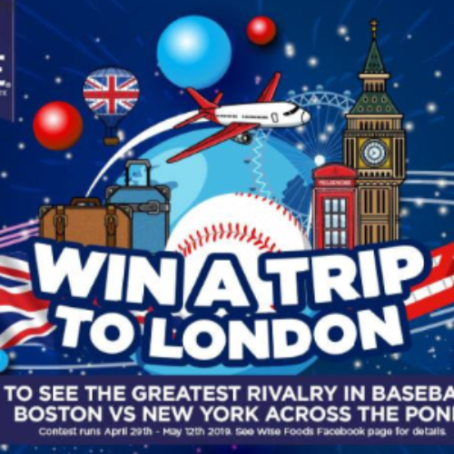 Win a Trip to London to See MLB from Wise Snacks