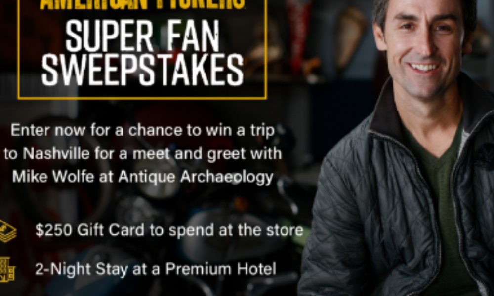 Win a Trip to Meet the American Pickers
