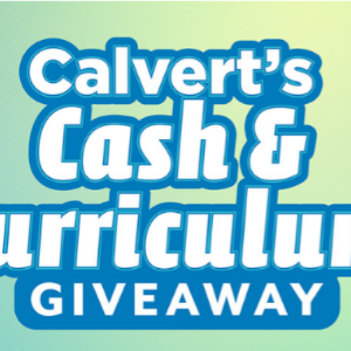 Win $1K Cash + $1K Calvert's Curriculum