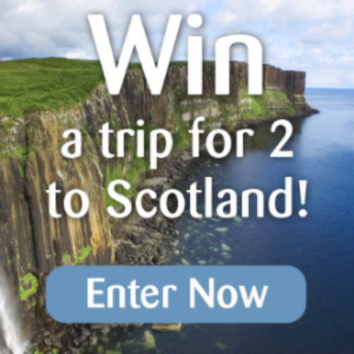 Win a Trip for Two to Scotland from CPR