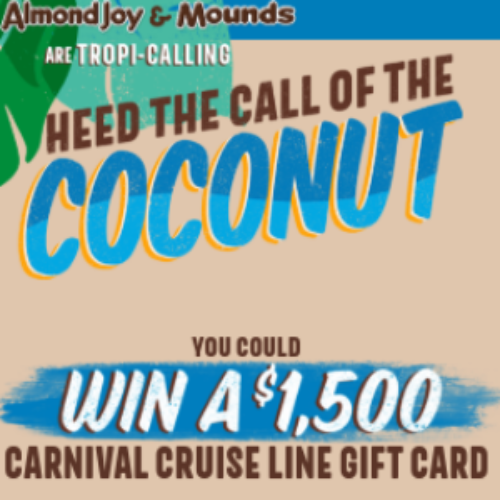 Win a $1,500 Carnival Cruise Line Gift Card