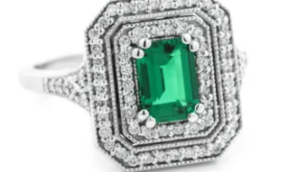 Win an Emerald Engagement Ring from Miadonna