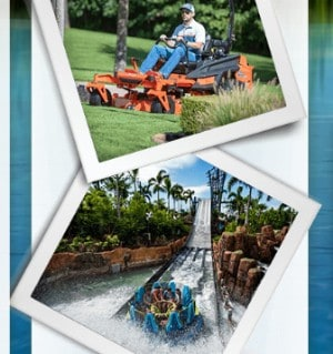 Win a Bad Boy Mower OR Family Trip to SeaWorld