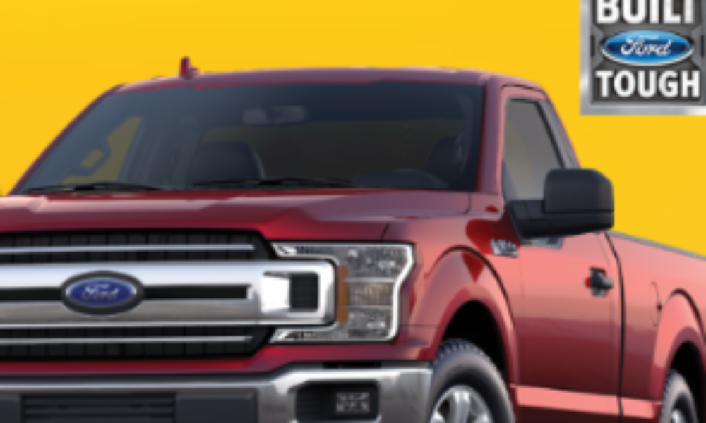 Win a 2019 Ford F-150 Truck from Texas Roadhouse